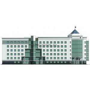 Здание областного суда в г. Курск