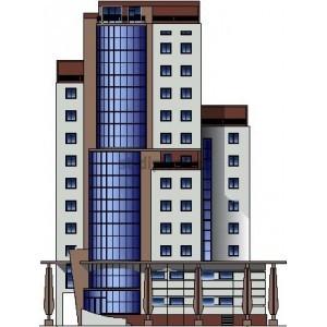 Монолитный офисный центр в г.Чебоксары