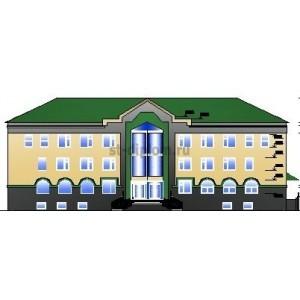 Административное здание налоговой инспекции в г.Новопавловск