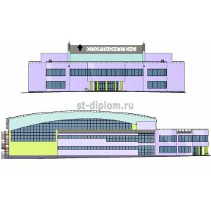 Спортивно-оздоровительный комплекс с бассейном в г. Курск
