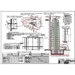 Техкарты на бетонирование монолитного перекрытия жилых зданий