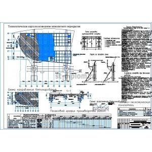 Техкарты на монтаж монолитного перекрытия общественных зданий