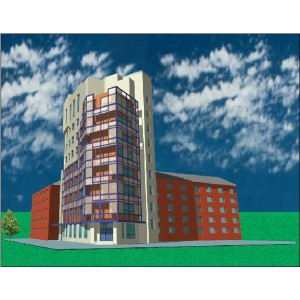 9-этажный жилой дом со встроенными офисами в г.Тюмень