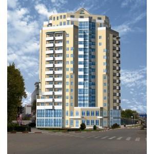 16-этажный жилой дом со встроенными помещениями в г.Сочи