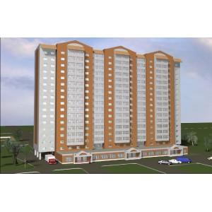 17-этажный жилой дом со встроенным торговым центром в г.Орел
