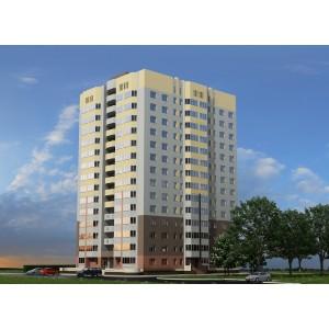 14-этажный кирпичный жилой дом с офисами в г.Брянск