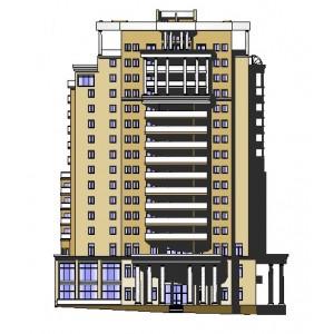 16-этажный жилой дом с пентхаузом в г.Новороссийск
