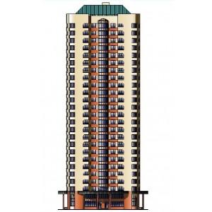 26-этажный жилой дом на 250 квартир в г.Москва