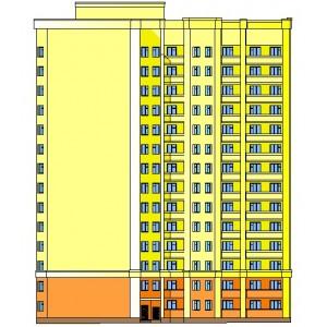 14-этажный жилой дом из кирпича в г.Брянск
