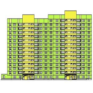 14,15-этажный жилой дом на 122 квартиры с административно-бытовыми помещениями в г.Ярославль