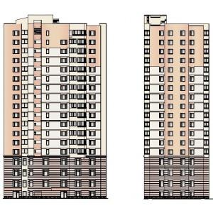 18-этажный жилой дом в г.Екатеринбург