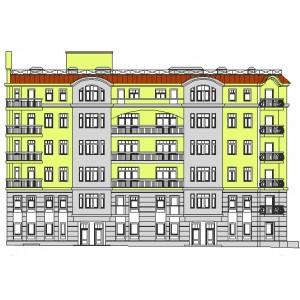 6-этажный монолитный жилой дом на 16 квартир в г.Москва