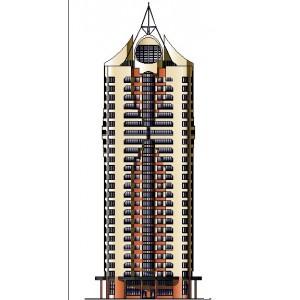 25-этажный монолитный жилой дом в г.Москва