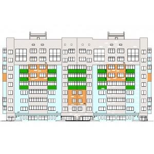 9-этажный жилой дом с объектами соцкультбыта в г.Липецк