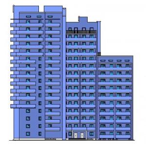 16-этажный жилой дом в г.Волгоград