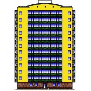 12-этажный жилой дом со встроенными офисными помещениями в г.Саратов