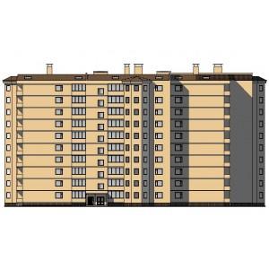 10-этажный монолитный жилой дом в г.Москва