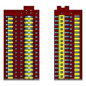16-этажный жилой дом на 70 квартир в г.Москва