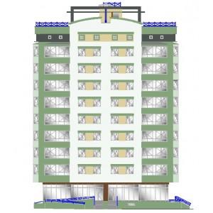 10-этажный жилой дом в г.Ханты-Мансийск