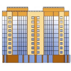 12-этажный монолитный жилой дом в г.Воронеж