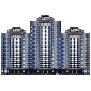 Жилой дом переменной этажности в г.Белгород