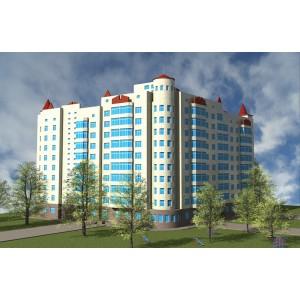 9-10-этажный 3-секционный жилой дом в г.Орёл