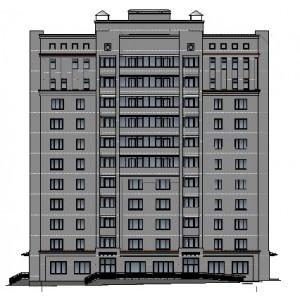 11-этажный жилой дом с магазинами в г.Смоленск