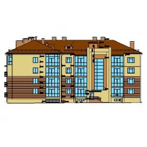 4-этажный жилой дом в г.Тольятти