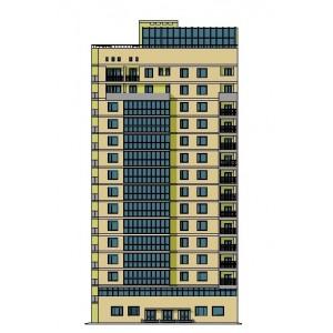 15-этажный жилой дом с офисными помещениями в г.Волгоград