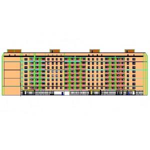 9-этажный жилой дом на 120 квартир в г.Каспийск