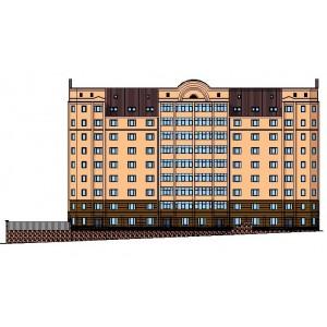 9-этажный жилой дом с подземной парковкой в г.Нижний Тагил