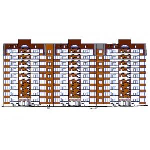 9-этажный 3-секционный жилой дом в г.Новороссийск