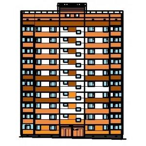 10-этажный жилой дом в г.Ижевск
