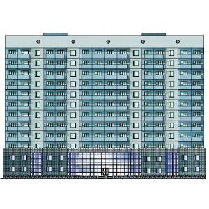 12-этажный жилой дом в г.Белгород