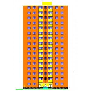 16-этажный монолитный жилой дом в г.Казань