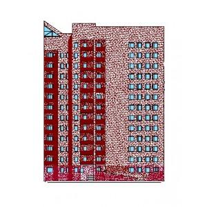 13-этажная секция в составе жилого комплекса в г.Уфа