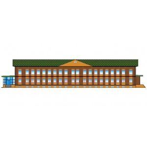 Лечебный корпус санатория в г.Салават