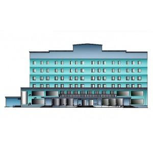 6-этажный торгово-офисный комплекс в г.Строитель
