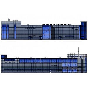 Торгово-развлекательный комплекс с подземной автостоянкой в г.Ухта