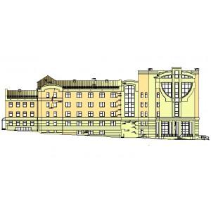 Пристройка к административному зданию Службы судебных приставов в г.Владимир