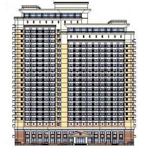 25-этажная гостиница на 400 мест в г.Москва