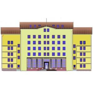 Здание пенсионного фонда в г.Курск