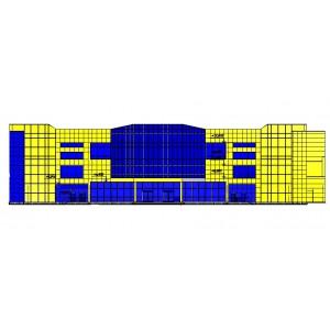 Многоэтажный торговый комплекс с паркингом в г.Нижневартовск