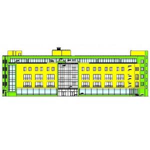 Торгово-офисное здание площадью 8700 кв м в г.Ярославль