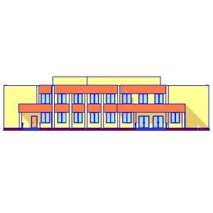 Сельский клуб на 250 посетителей в пос.Долгое Орловской области