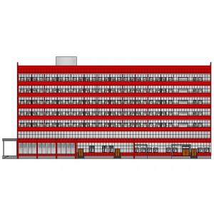 8-этажный гостинично-торговый комплекс в г.Муром