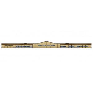 Конно-спортивный комплекс на 60 голов в местности Ус-Хатын республика Саха