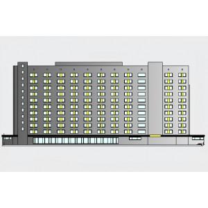 11-этажный гостиничный комплекс на 600 мест в г.Великий Новгород