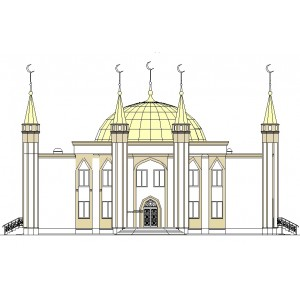 Реконструкция соборной мечети в г.Лангепас