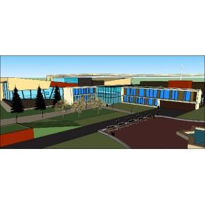 Преобразование дома спорта в многофункциональный центр в пгт Новые Ляды в г.Пермь